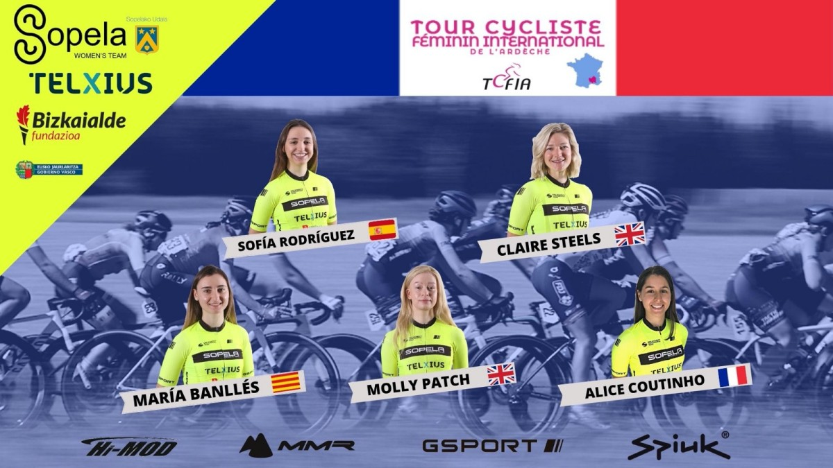 El Sopela Women Team rumbo a Francia
