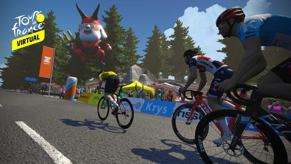 El Tour de Francia Virtual podrá verse en directo por +tdp