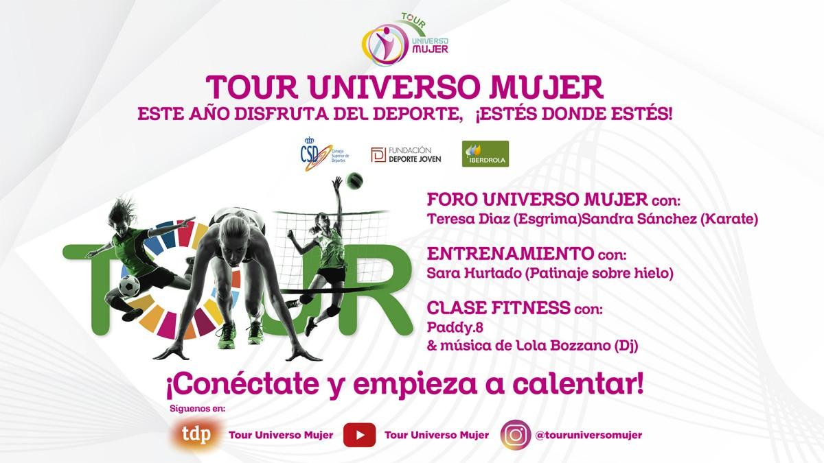 El Tour Universo Mujer llega en su versión digital