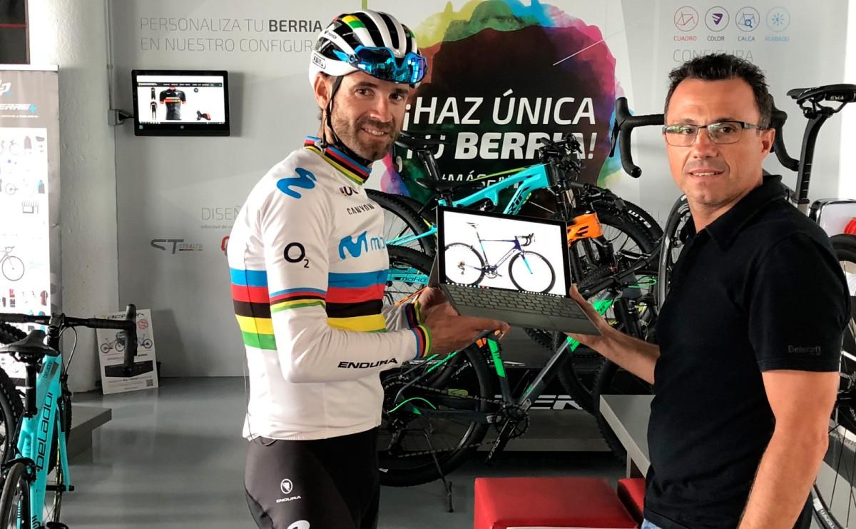 El Valverde Team - Terra Fecundis competirá con bicicletas Berria
