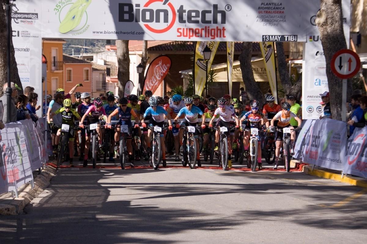 Emoción por todo lo alto en Tibi, tercera puntuable Superprestigio MTB Biontech 2019