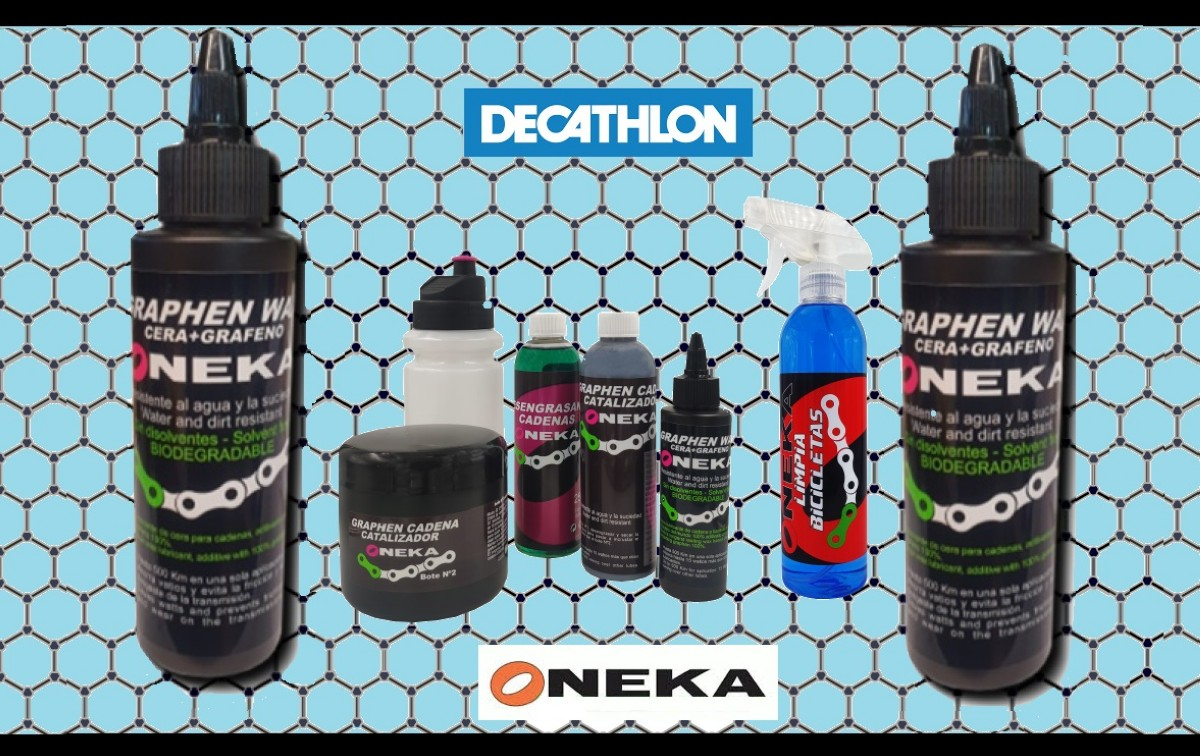 En Decathlon ya puedes encontrar los lubricantes con grafeno de Oneka