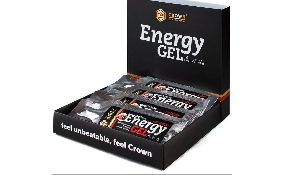 Energy Gel de Crown Sport Nutrition te aporta energía instantanea