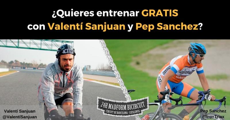 Entrena GRATIS para las 24h MADFORM con Valentí San Juan y Pep Sánchez