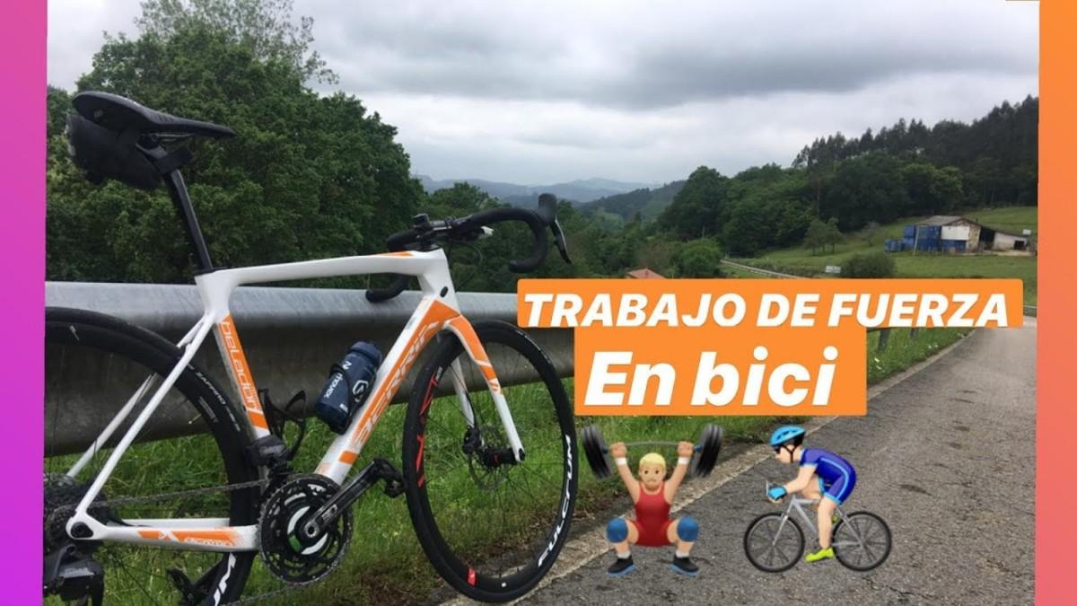 Entrenamiento de fuerza con Adrian García antes de intentar el Everesting Challenge