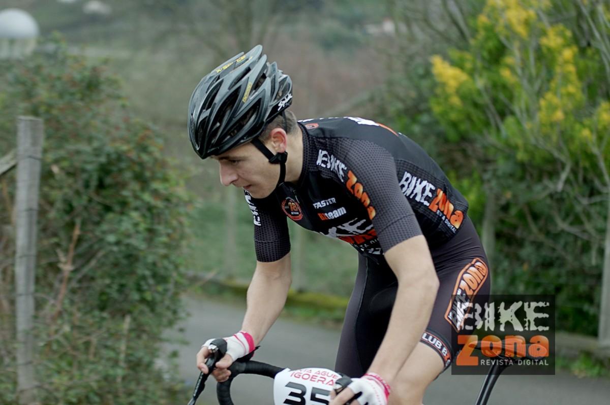 Entrevista con Miguel Sánchez, el corredor más joven del BikeZona Team 2020