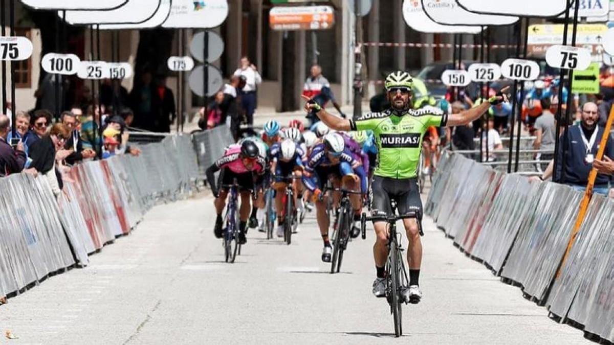 Etapa para Sanz, general para Cimolai en la Vuelta a Castilla-León