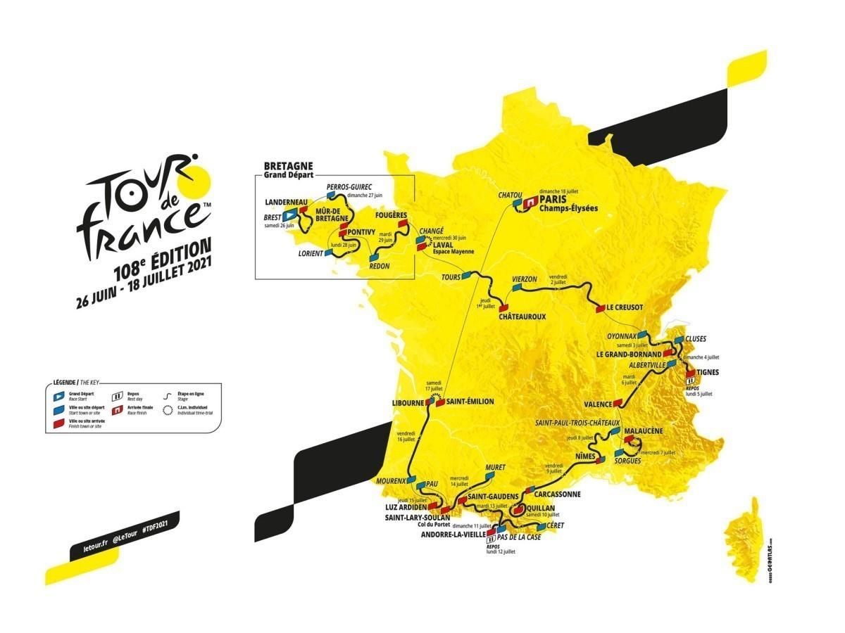Tour de Francia 2021<br>Solo faltan 10 días