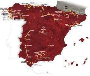 Etapas Vuelta a España 2013
