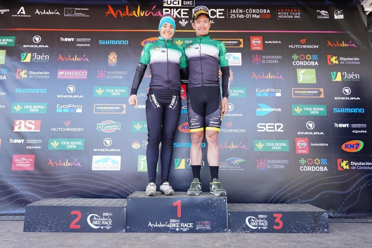 Fabian Rabensteiner y Eva Lechner campeones de la Andalucía Bike Race 2020