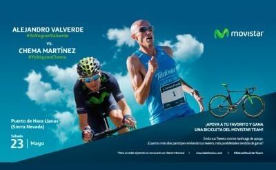 Faltan un día para el reto Ciclista Vs Corredor