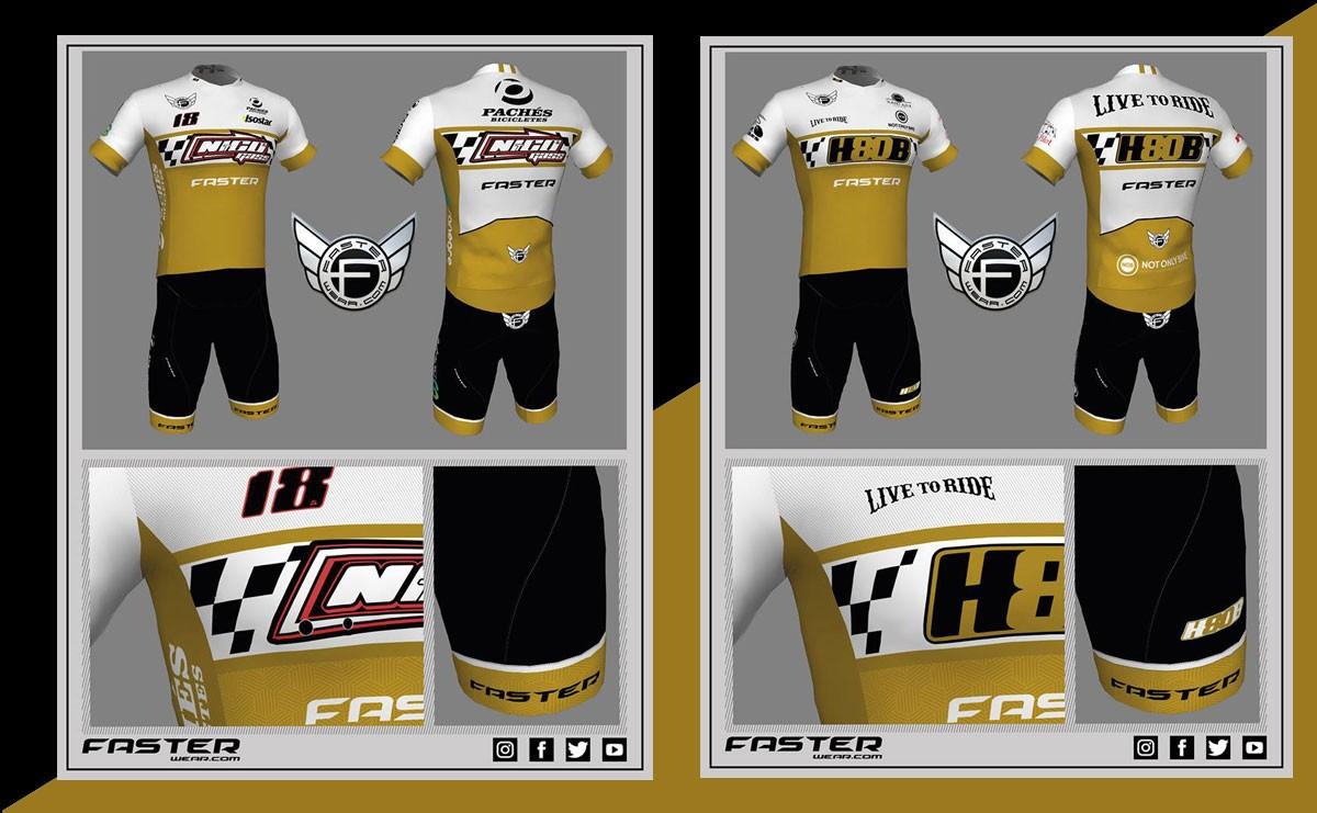Faster Wear también con el motociclismo vestirá a Nico Terol y Héctor Barberá