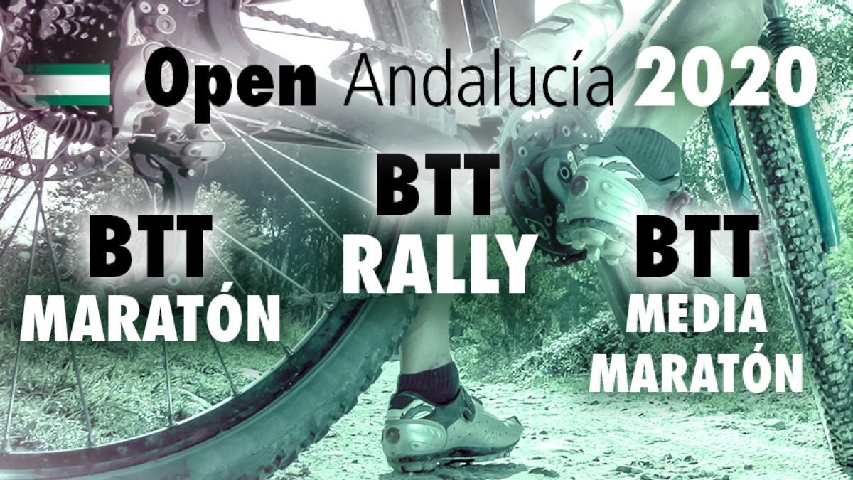 Fechas decididas para los Open de Andalucía BTT Rally, Maratón y Media Maratón