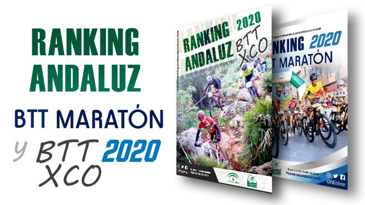 Fechas para el ranking Andaluz BTT XCO y Maratón 2020