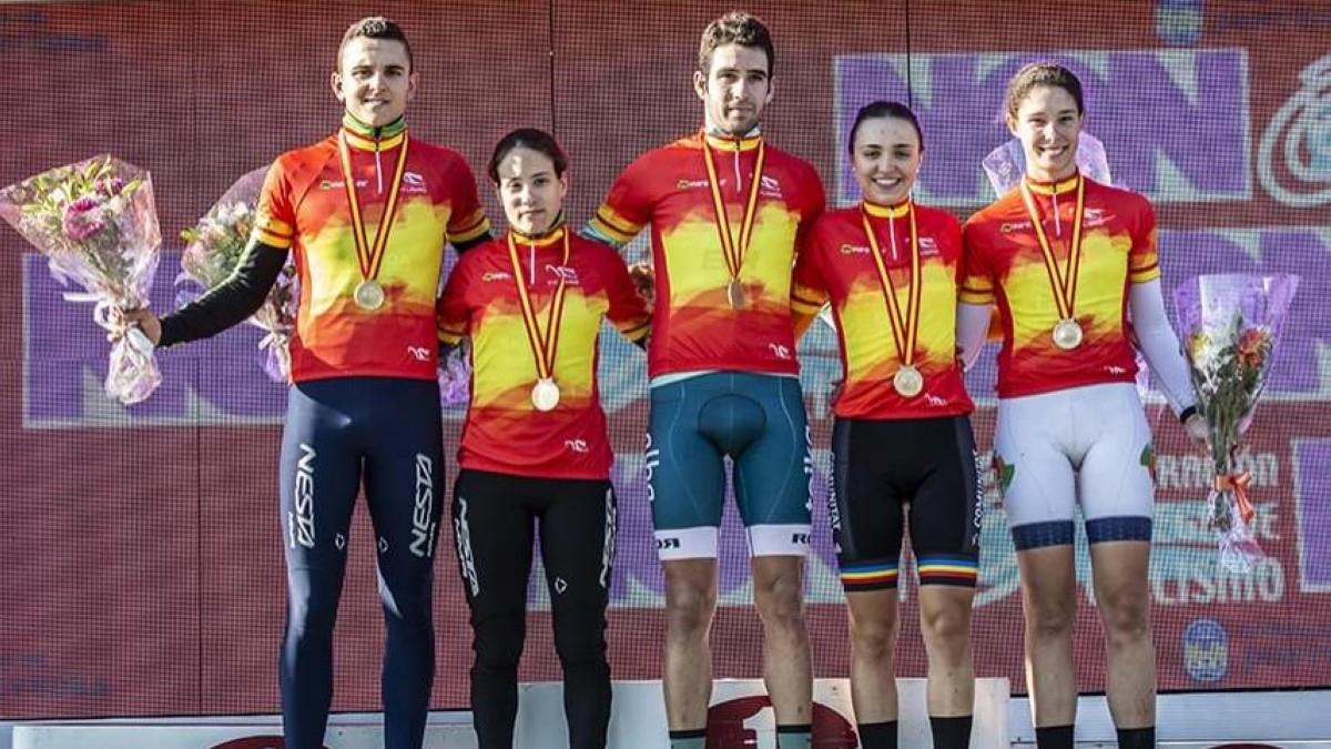 Felipe Orts y Lucía González son los campeones de España de ciclocross 2020