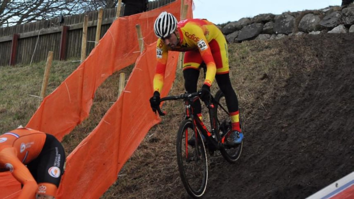 Felipe Orts se mete en el Top Ten del europeo de Ciclocross