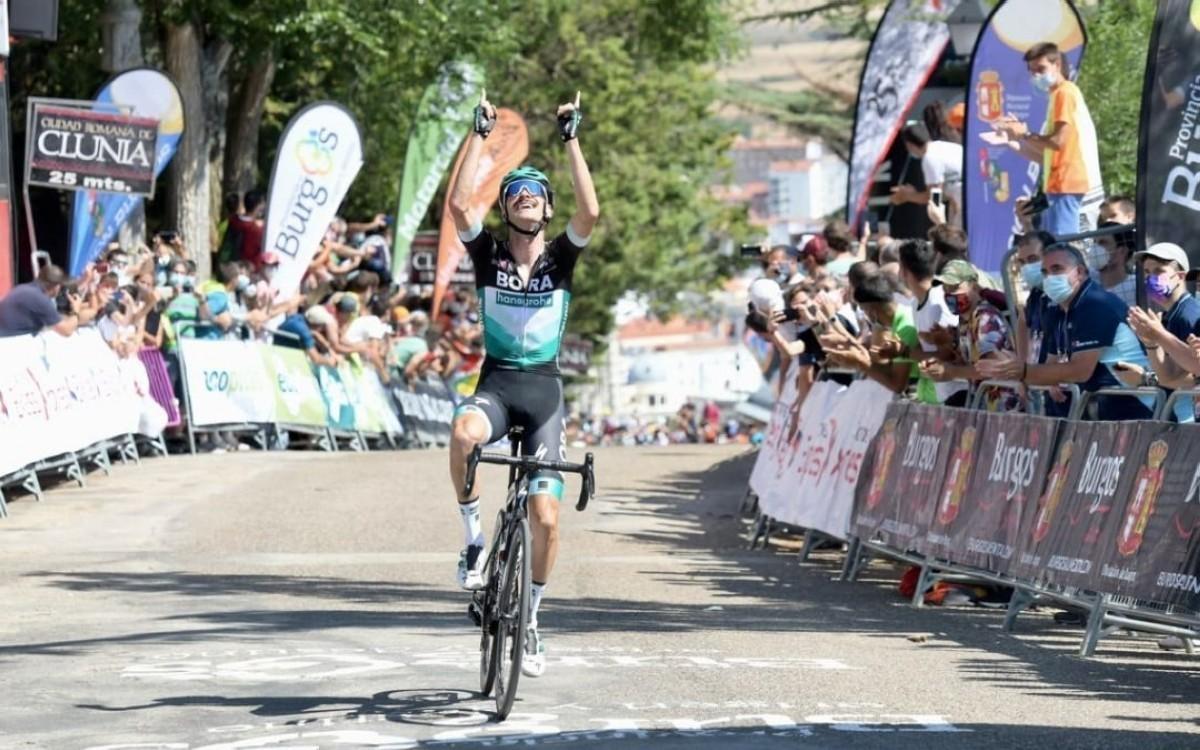 Felix Großschartner primer líder de la Vuelta a Burgos más esperada