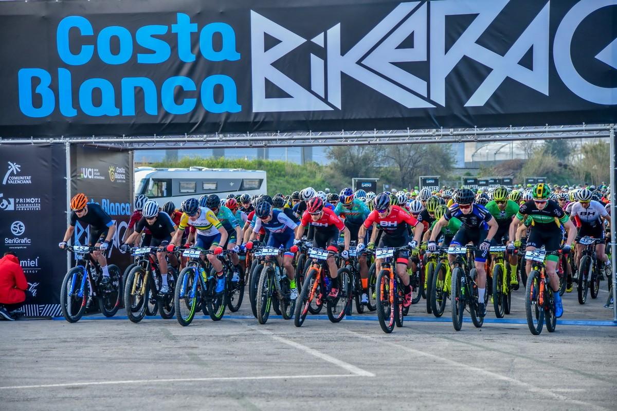 Ferreira y Becking ganan la primera etapa y lideran la Costa Blanca Bike Race 2020