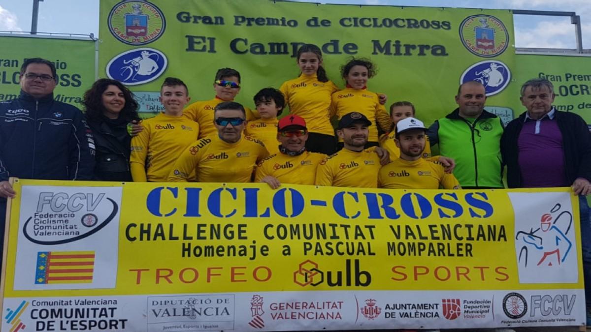 Finalizó la Challenge de Valencia de CX en Camp de Mirra