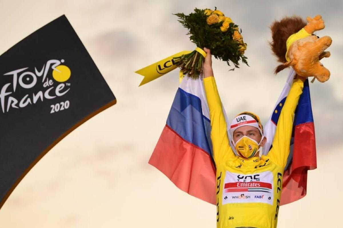 Finalizó el Tour de Francia 2020: Tadej Pogacar se corona en París a sus 21 años