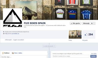 Fuji Bikes España estrena facebook