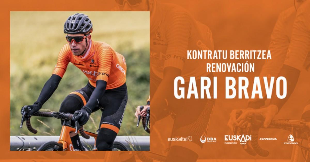 Gari Bravo al menos un año más con el equipo Euskadi