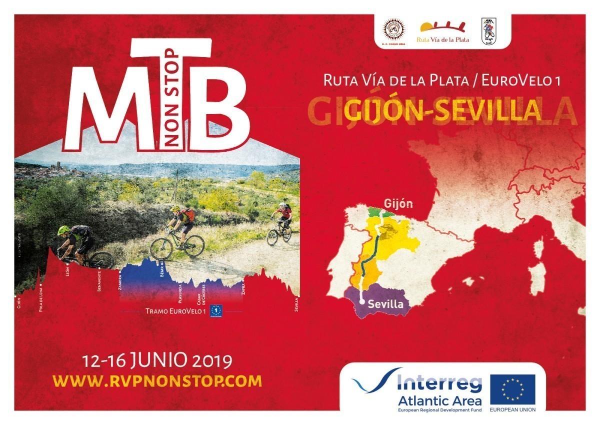 Gijón - Sevilla en MTB, casi 1.000 kilómetros en la RVP - Non Stop