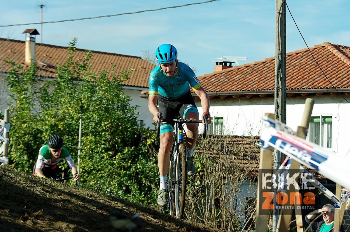 Gorka Izagirre y Paula Suárez nuevos campeones de Euskadi de ciclocross