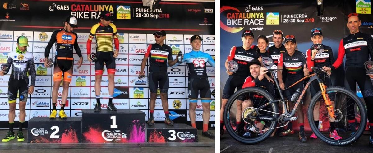 Gran Catalunya Bike Race para el equipo Olympia