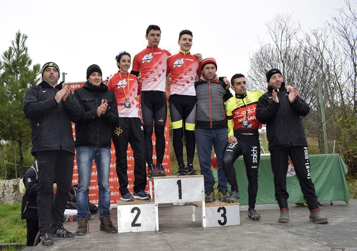 Grandes victorias de Cantalicio y Ortiz en el ciclocross de Coslada