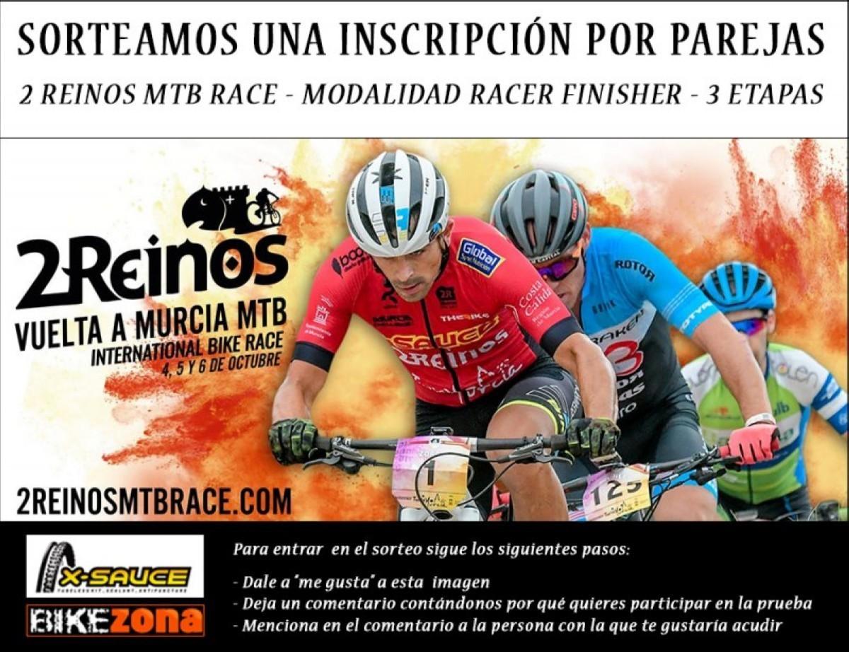 Hazte con una inscripción gratis para la 2 Reinos Vuelta a Murcia MTB
