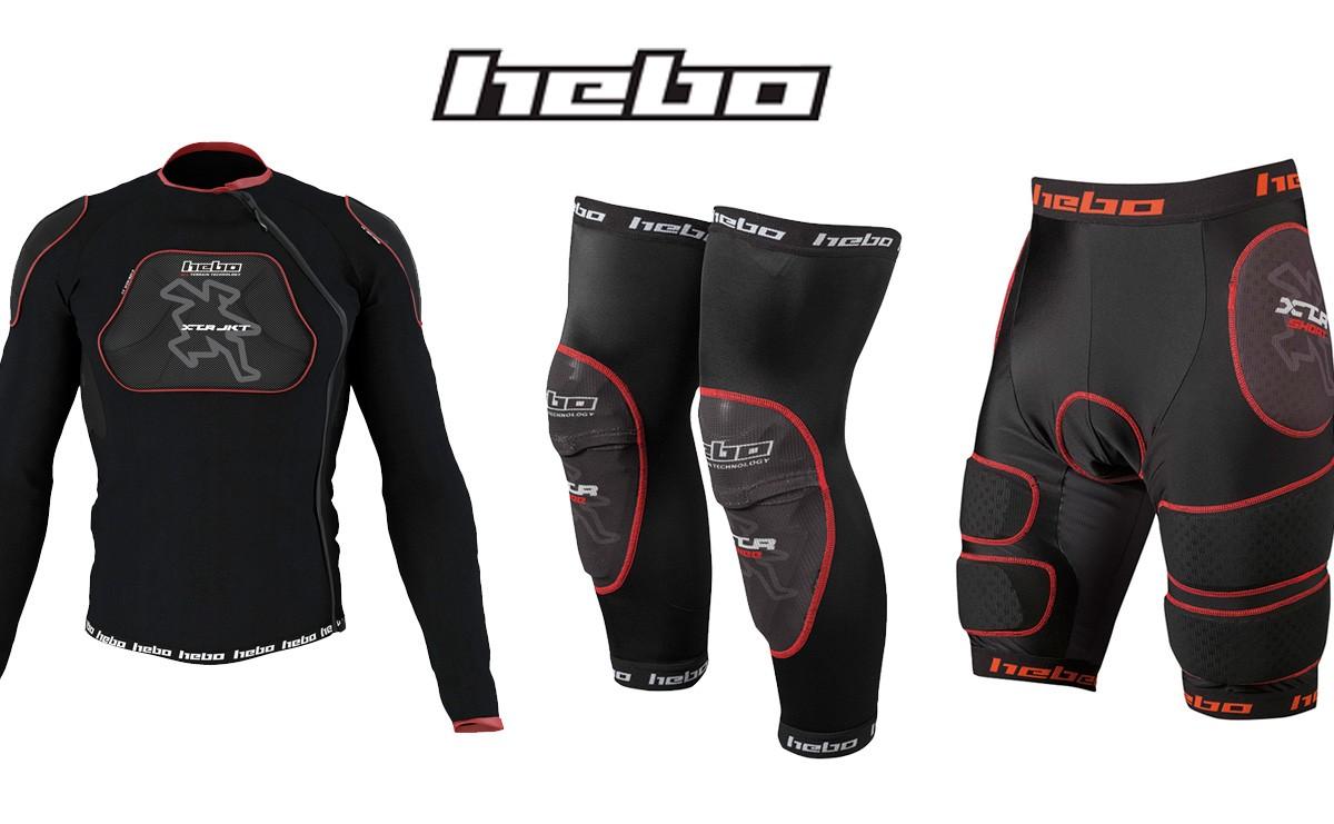 Hebo Bike presenta su nueva colección XTR con tejidos compresivos