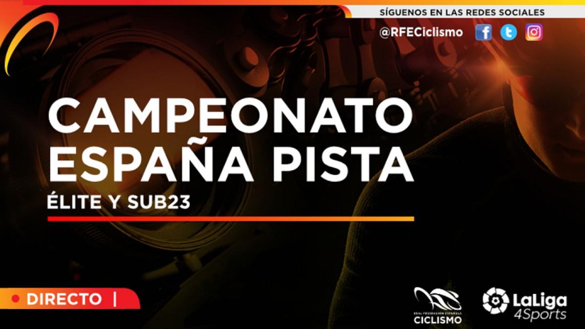 Horarios del streaming del Campeonato de España de Pista 2018