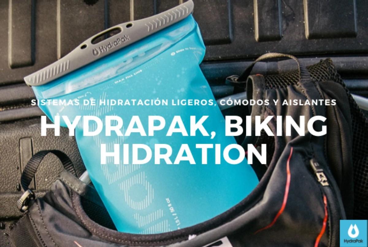 Hydrapak<br>Sistemas de hidratación