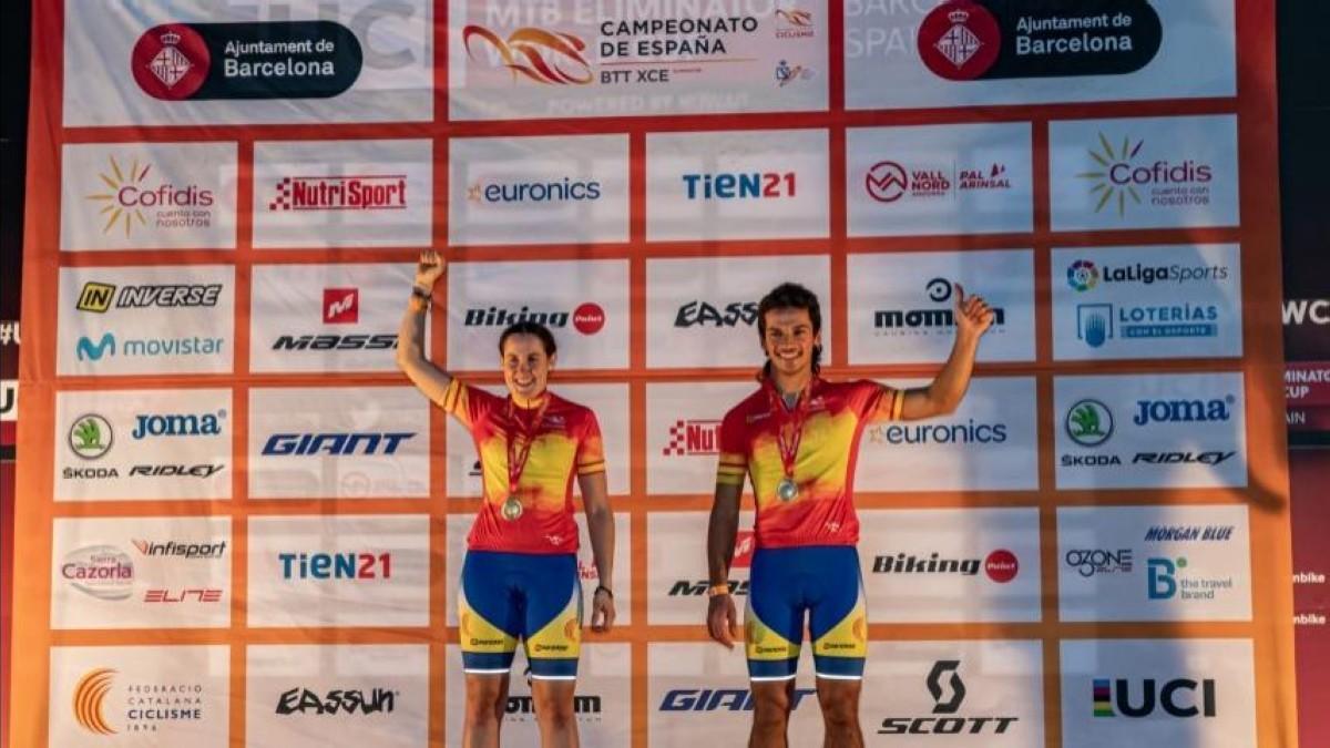 Ignasi Jorba y Sara Gay, campeones de España de XC Eliminator