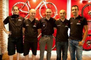 Presentación de pedales del mundo en Vitoria