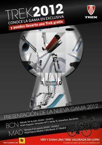 Bicicletas Trek 2012: Conócelas en Madrid y Barcelona