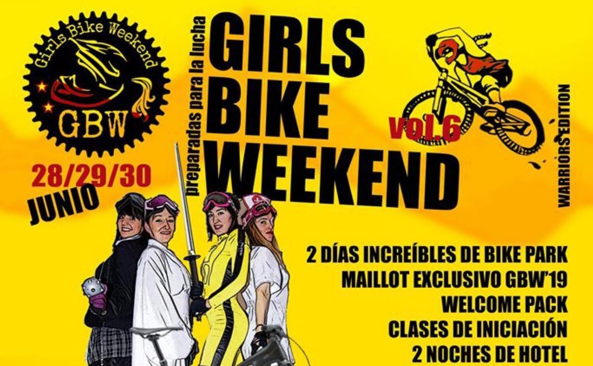 Inscripciones abiertas para el Girls Bike Weekend 2019