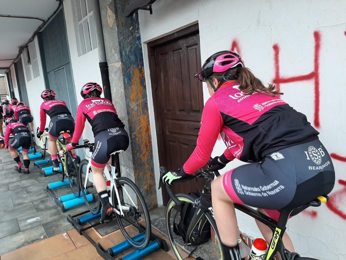 ISB Sport nuevo patrocinador del Club Ciclista Ermitagaña