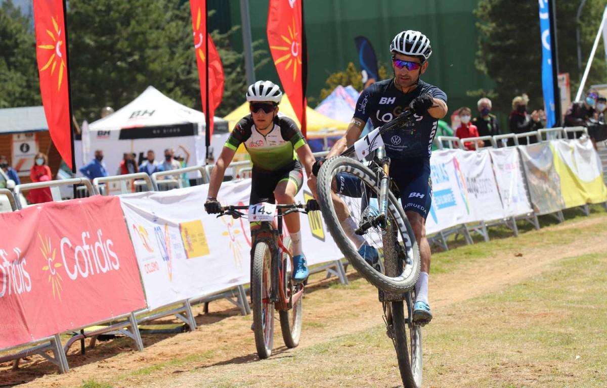 Ismael Esteban y Meritxell Figueras logran el triunfo en Sabiñanigo