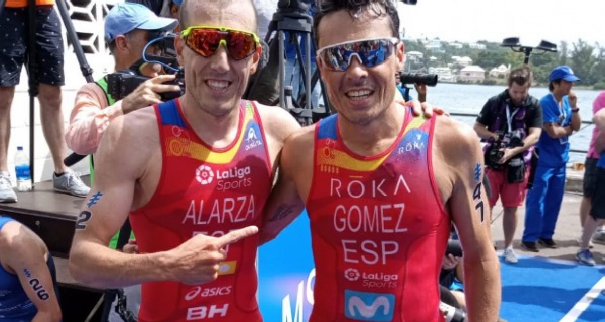 Javier Gómez Noya vuelve a las Series Mundiales y logra la plata