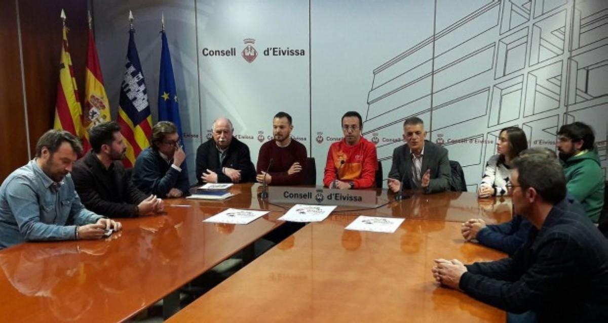 Jornadas de trabajo para el Campeonato de Europa Multideporte Ibiza 2018