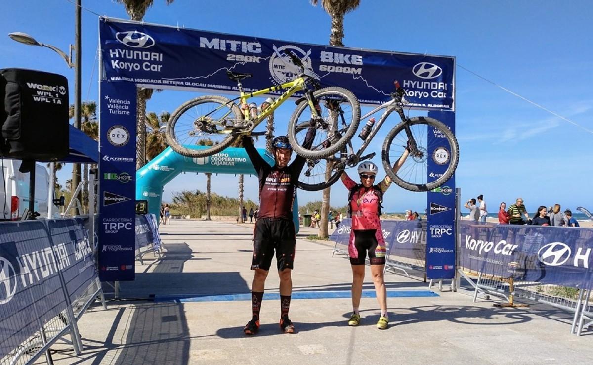 Joseba León se hace con la victoria en la Mitic Bike de Valencia