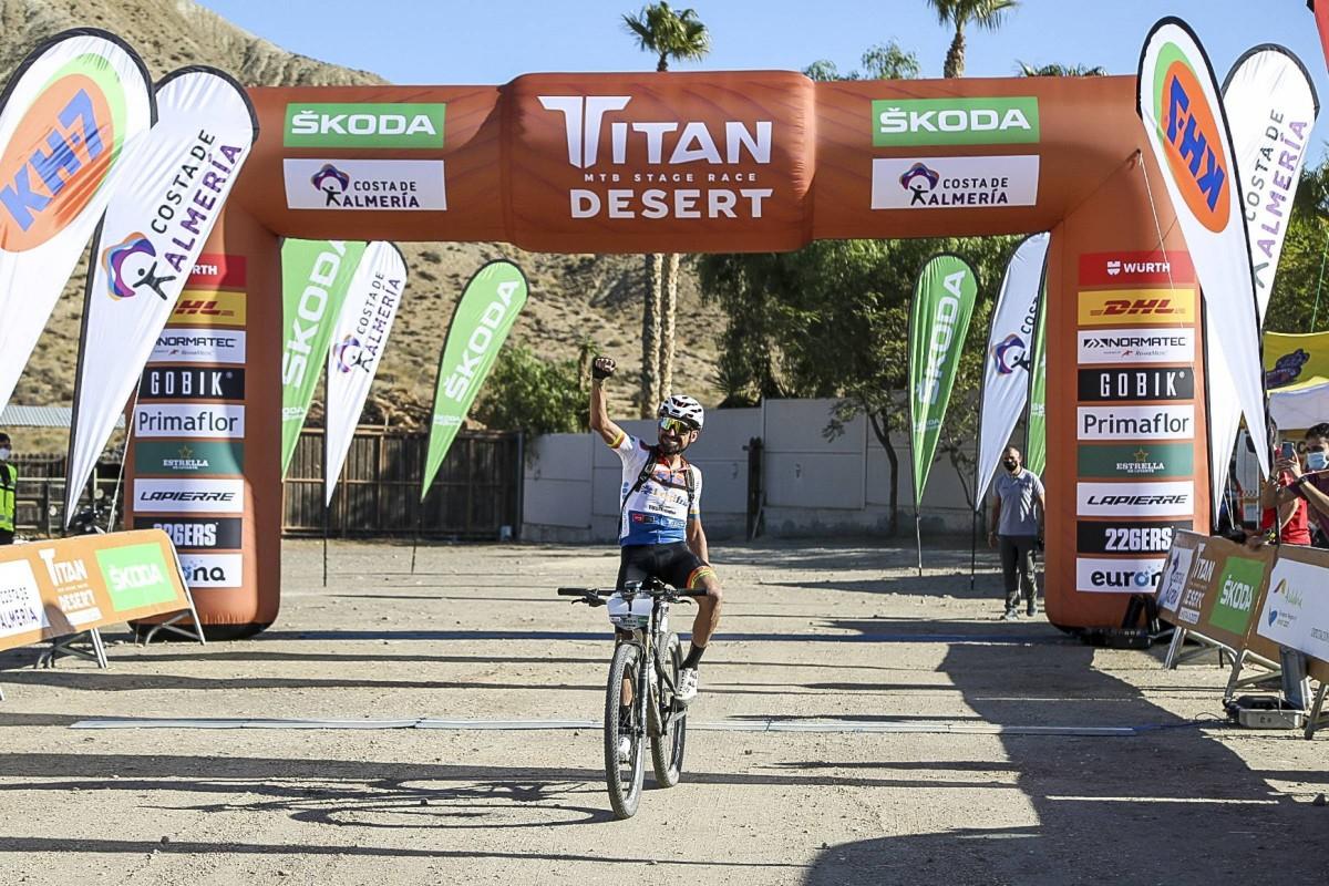 Josep Betalú suma su segunda victoria de etapa en la Titan Desert 2020
