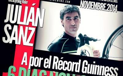 Julián Sanz intentará batir un récord guiness