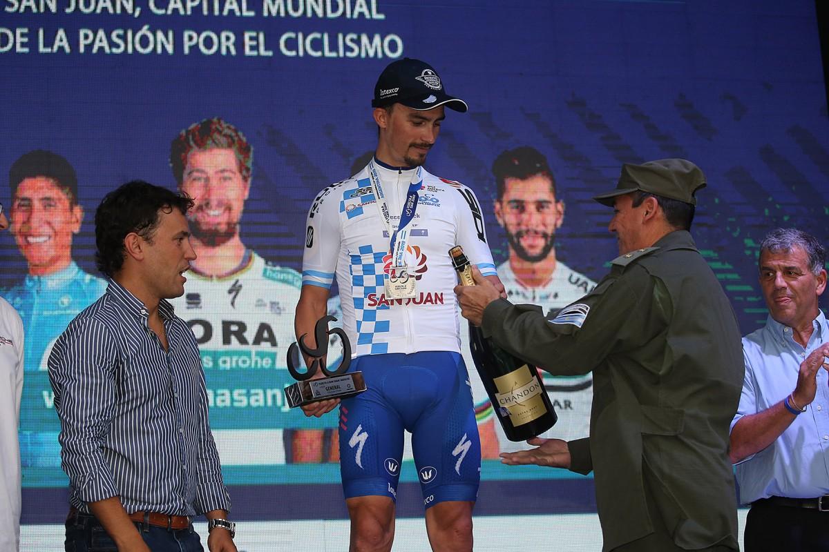 Julian Alaphilippe regresa a la Vuelta a San Juan