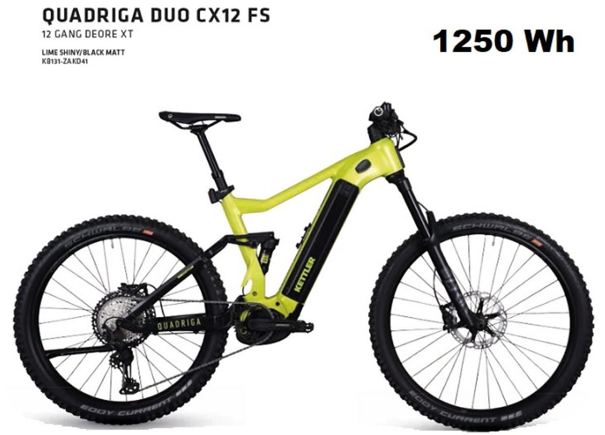 Kettler Quadriga CX12 FS la E-Bike con más autonomía del mercado