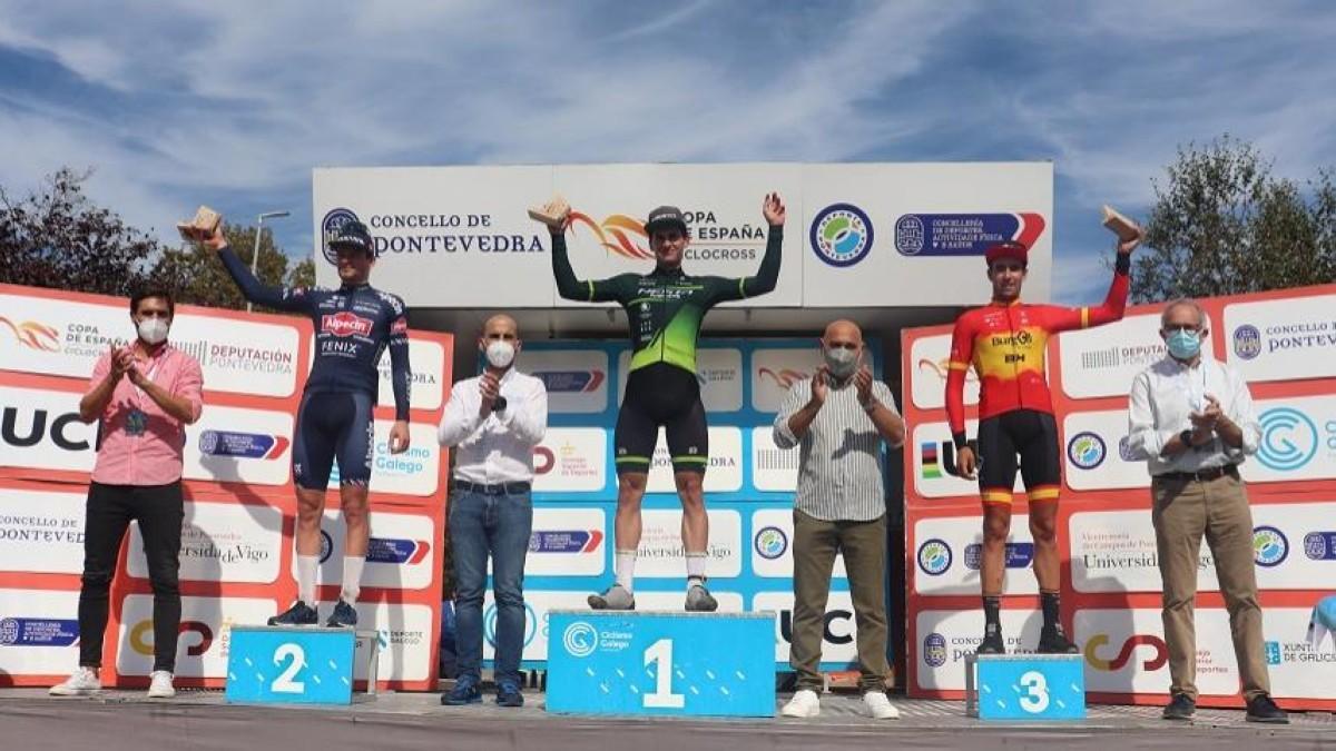 Kevin Suárez y Lucía González son los primeros líderes de la Copa de España de ciclocross 2021