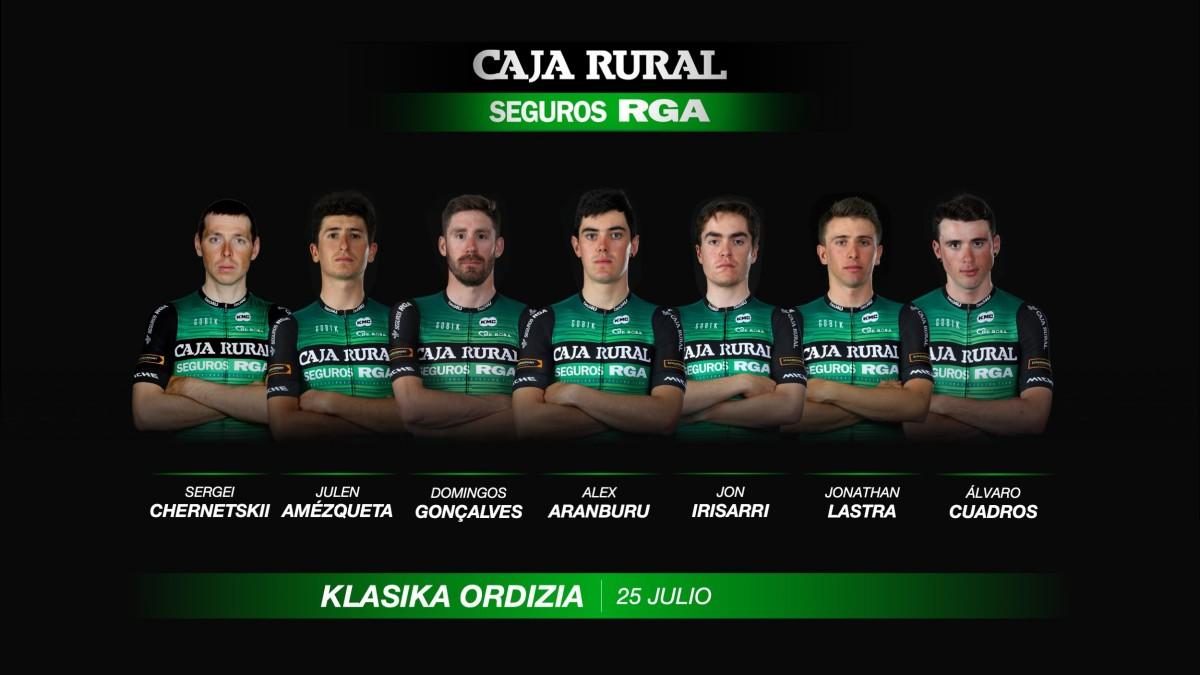 Klasika de Ordizia y Adriatica Ionica Race marcan el regreso de Caja Rural-Seguros RGA