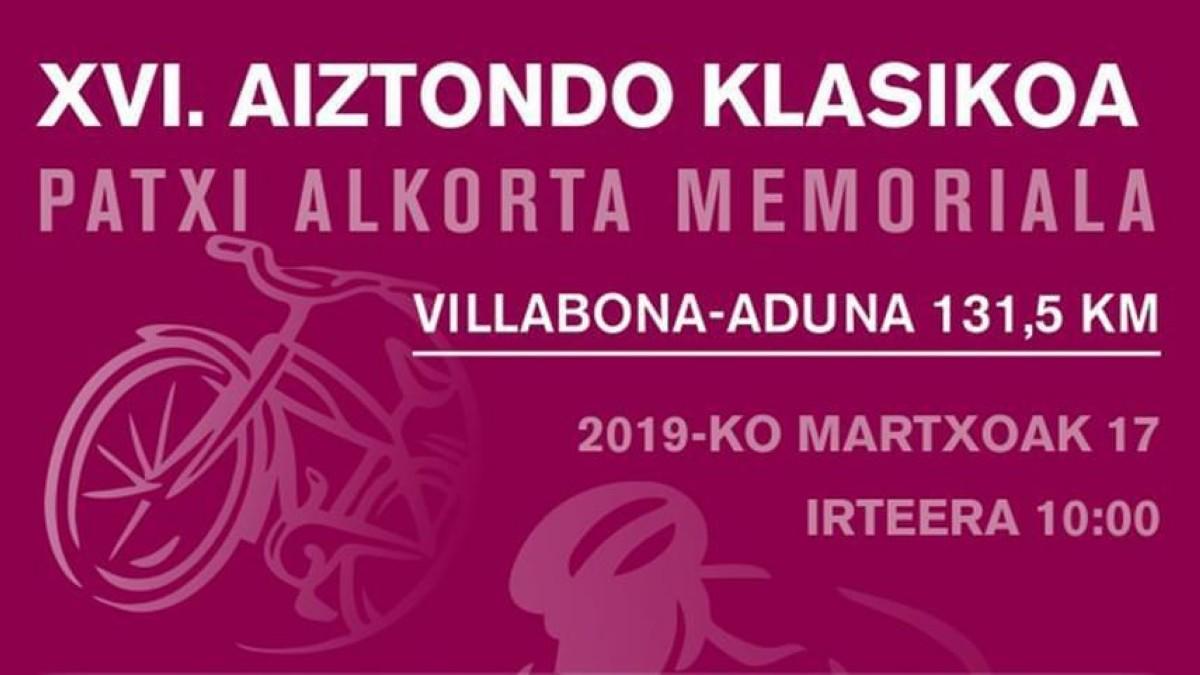 La Aiztondo Klasika tercera cita de la Copa de España Élite-Sub23